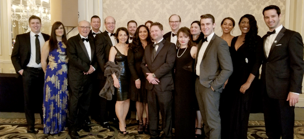 Exact Data Attends Clearbrook's Shining Star Ball.